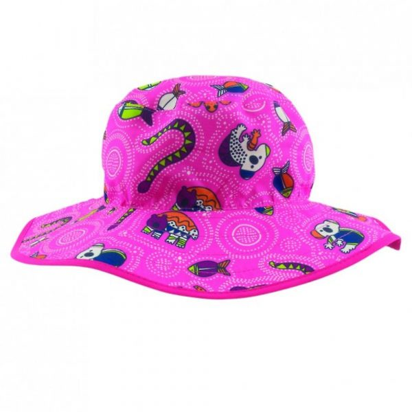 6ec5ae4a Banz Reversible Bucket Hat - Pink Coolgardie - Everything For Babies