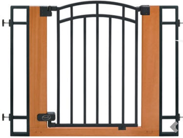 Summer Infant Wood And Metal Walk Thru Gate Everything For Babies