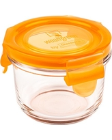 wean-green-glass-baby-food-storage-containers-wean-bowl-5-4-ounces-carrot