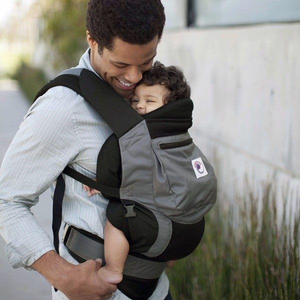 Ergo Baby Performance Baby Carrier Charcoal Black