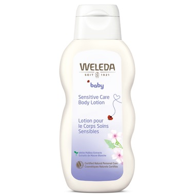 weleda sensitive care body lotio